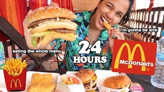 i only ate mcdonalds for 24 hours and this is what happened.. | clickfortaz