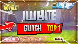 GLITCH DO TOP 1 IN ILLIMITE ON FORTNITE BATTLE ROYALE !!!