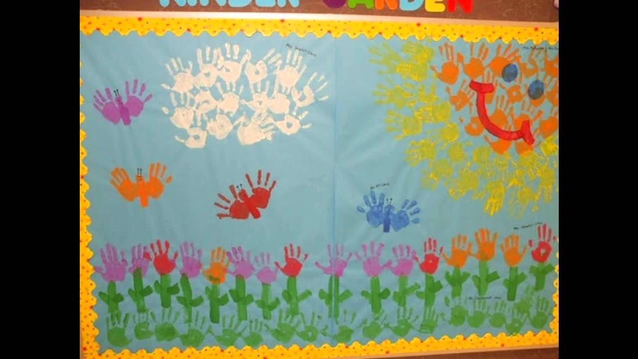 Spring Themed Classroom Decorations : Spring decorations for classroom youtube