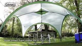 Coleman® Event Shelter Deluxe 15x15 - the ideal shelter for the garden and campground