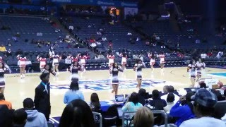 Phillip O.  Berry 2015 cheerleaders at CIAA