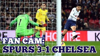 FAN CAM: Spurs 3-1 Chelsea: Wonderful Spurs, Great Goal From Heung-Min Son / 손흥민 / 孫興慜: 24/11/18