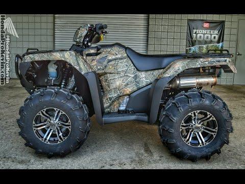 2016 Honda Rubicon 500 ATV - ITP SS212 Wheels & ITP Mud Lite Tires | FourTrax TRX500 Foreman