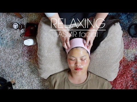 My First ASMR Facial Treatment On Chrissstttiiine (gentle Whispers)