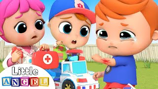 Download Doctor is Here to Help | Boo Boo Song | Little Angel Kids Songs &Nursery Rhymes Mp3 and Videos