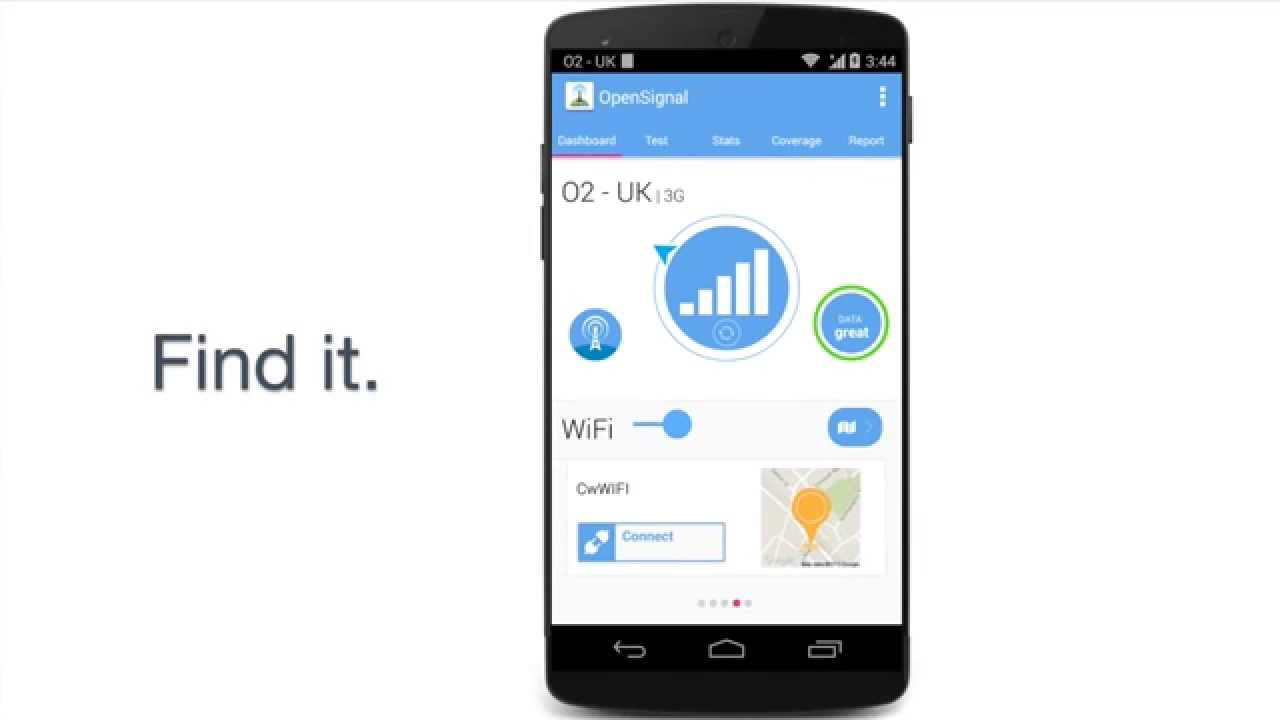 OpenSignal - 3G/4G/WiFi 5 62 1 for Android - Download