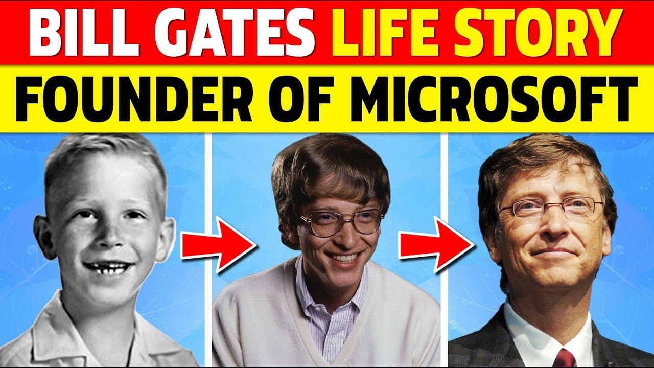 Bill Gates Biography | Success Story of Microsoft | Childhood