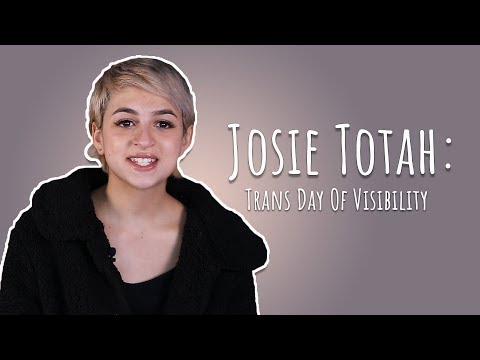 Actress Josie Totah On The Importance Of Trans Day Of Visibility