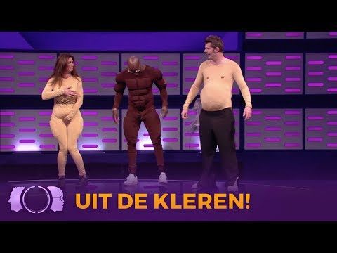 SHOCKING! Gaan Jandino, Quinty en Sander uit de kleren?!  | De Gordon tegen Dino Show