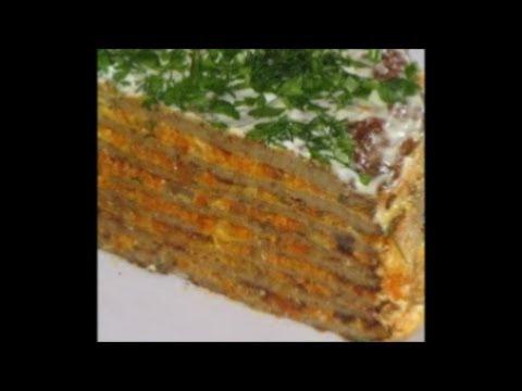 Печеночный торт 57 рецептов с фото рецепты с