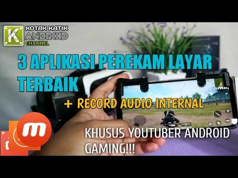 3 Aplikasi Perekam Layar Terbaik 2018 + Record Audio Internal Khusus Youtuber Gaming Android