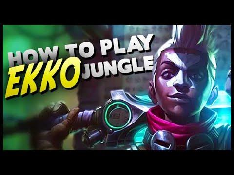 How to Play Ekko Jungle in Season 9! (highest damage 15 min win in Diamond)