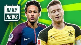 Neymar zurück zu Barcelona? Verletzungssorgen beim BVB! Naldo bis 2020 bei Schalke 04!