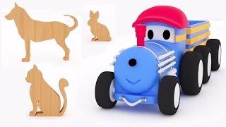 Learn Farm Animals with Ted the Train |  Educ...