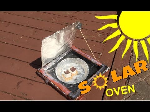 solar oven pizza box experiment youtube. Black Bedroom Furniture Sets. Home Design Ideas