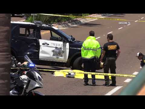 Encinitas: Deputy Involved Fatal Crash 06242018
