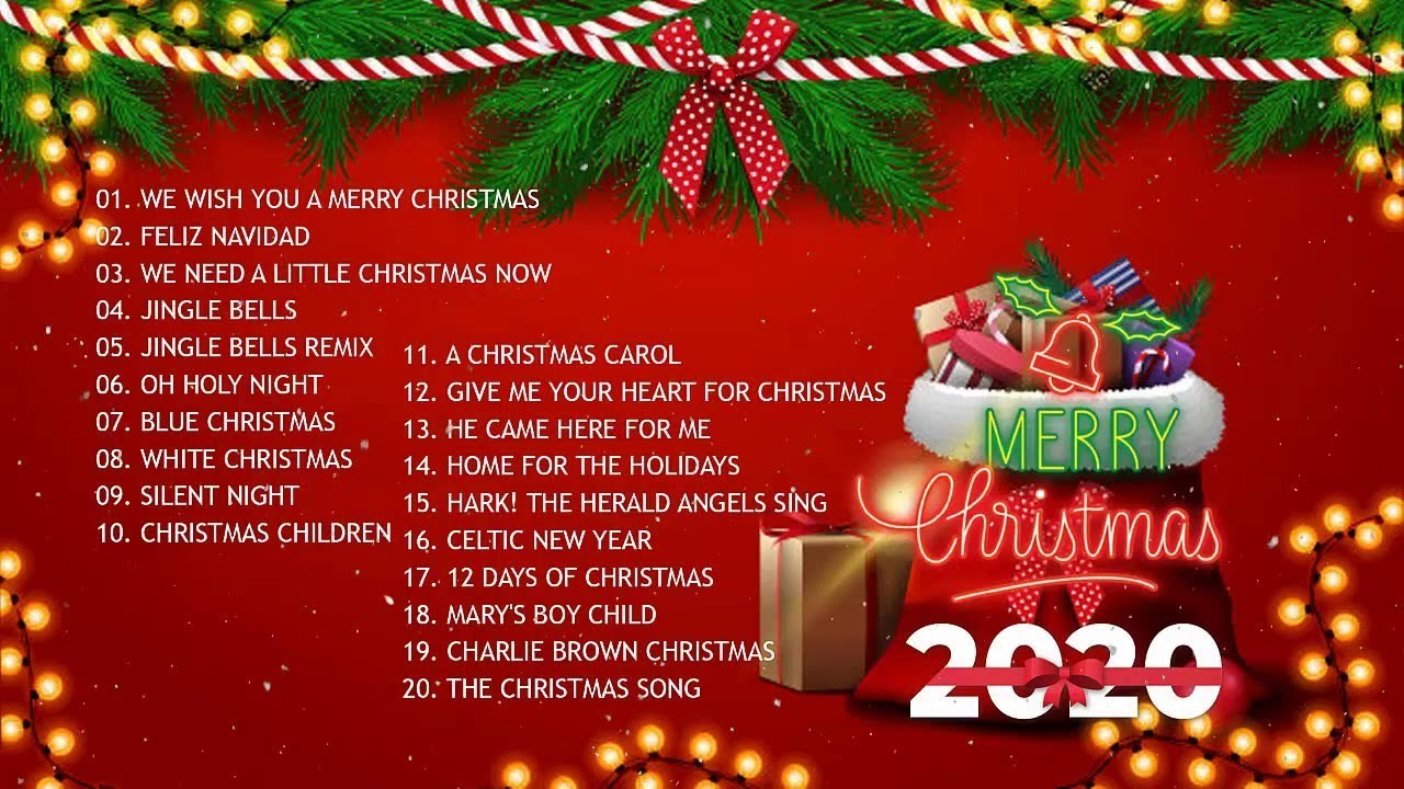 Christmas Music 2020 🎅 Top Christmas Songs Playlist 2020 🎄 Best Christmas Songs Ever - YouTube