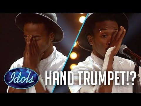 FORGETS HIS WORDS Plays Hand Trumpet?!?! Idols SA 2017 | Idols Global