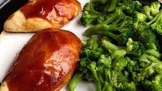 Easy Oven Barbecue Chicken (bodybuilding-friendly)