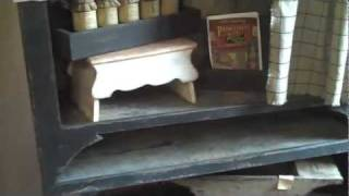 Colonial Primitive Country Furniture: Video 20