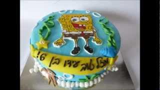 עוגות בצק סוכר מצויירות - כל הסוגים - שלינקה