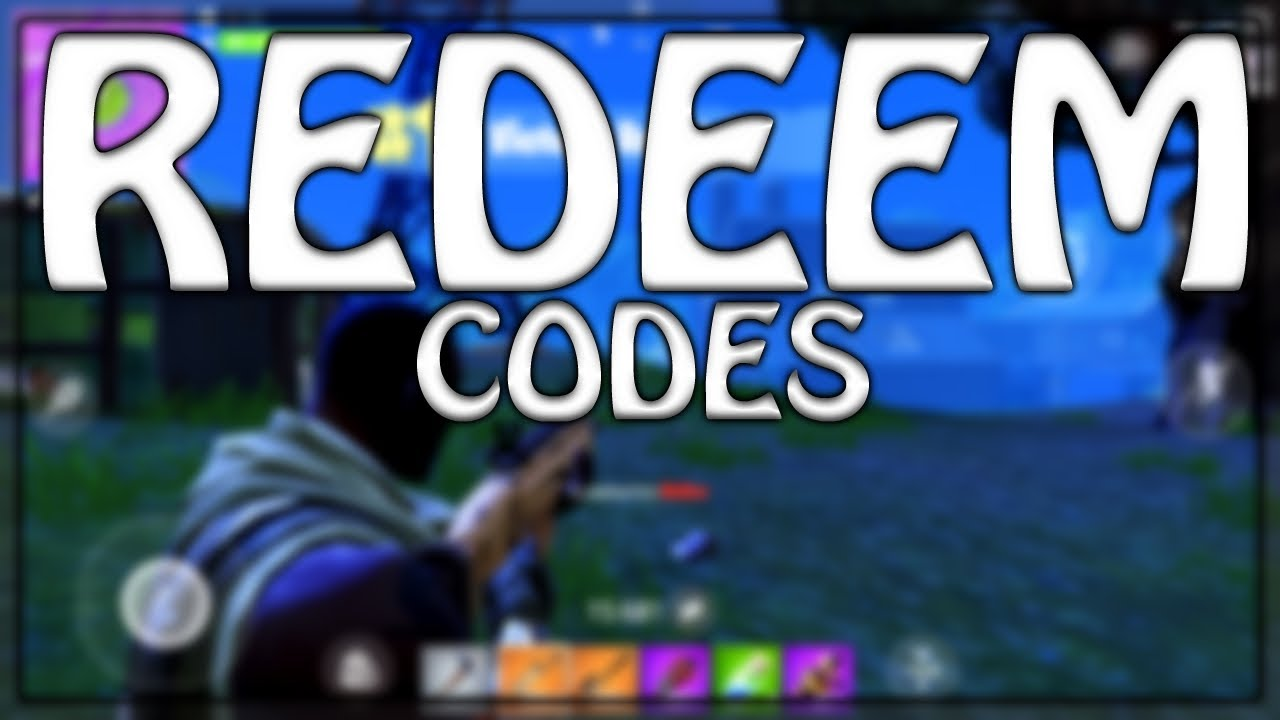 How to redeem Fortnite Mobile codes! (Not available ...