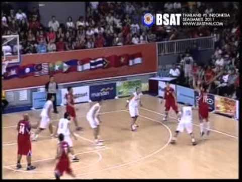 Mens Basketball Thailand vs Indonesia Sea Games 2011