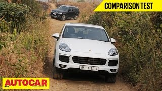 Porsche Cayenne VS Range Rover Sport | Comparison Test | Autocar India