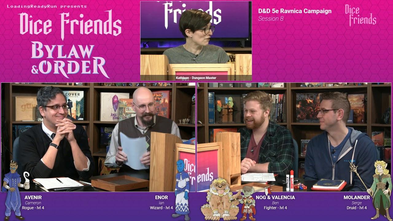 Download Episode 8 - Dice Friends: Bylaw & Order