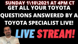 Toyota Lexus and Scion Q&A…