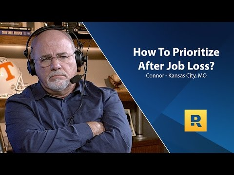 How To Prioritize What To Do After Job Loss