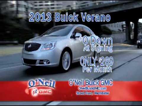 O Neil Buick Gmc Commercial Sept 2017