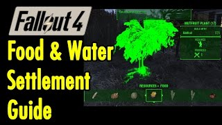 Food Water Settlement Guide Fallout 4 xBeau Gaming