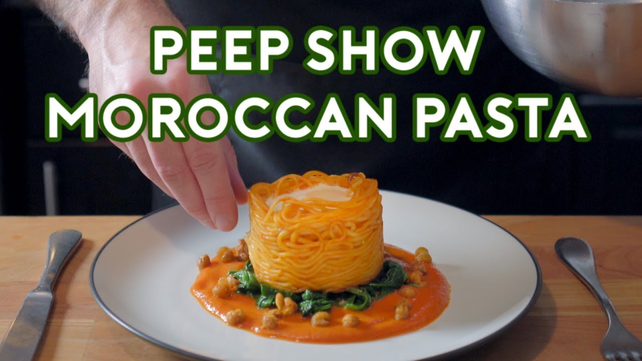 Binging with Babish: Moroccan Pasta from Peep Show
