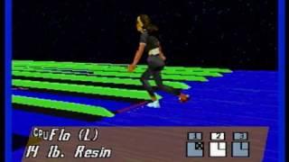 Ten Pin Alley (Sega Saturn) - Gameplay (9/10/09)