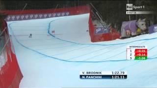 Nadia Fanchini argento in discesa libera ai mondiali di schladming 10/02/2013