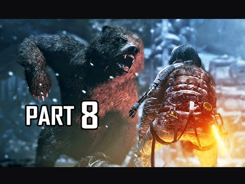 Rise of the Tomb Raider Walkthrough Part 8 - Geothermal Valley (Let's Play Gameplay Commentary)