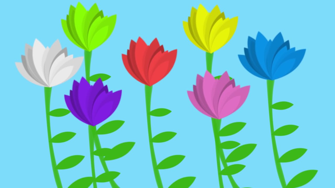 The flower song lullaby for learning colors childrens the flower song lullaby for learning colors childrens educational song youtube mightylinksfo Choice Image