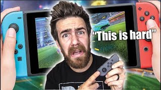 I TRIED TO PLAY ROCKET LEAGUE ON THE NINTENDO SWITCH...