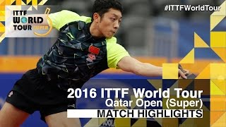2016 Qatar Open Highlights: Fan Zhendong vs Xu Xin (1/2)(This video was created by ttlondon2012 exclusively for the ITTF! Review all the highlights from the Fan Zhendong vs Xu Xin (1/2) from the Qatar Open 2016 ..., 2016-03-27T13:46:12.000Z)