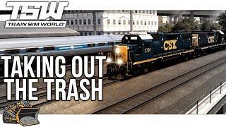 Train Sim World Northeastern Corridor Trash Run