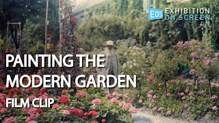 INTRO SEQUENCE | Painting the Modern Garden: Monet to Matisse (2016) | Film Clip