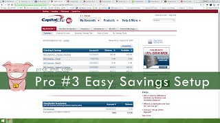 Capital One 360 PROS and CONS   Checking & Savings Account Review