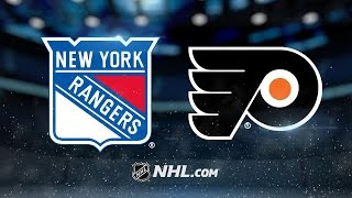 Rangers top Flyers in shootout
