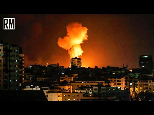 BREAKING: Israel Conducts Illegal Airstrikes in Gaza; Syria
