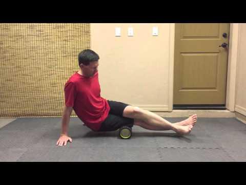 SMR Hamstrings Biceps Femoris Foam Roll