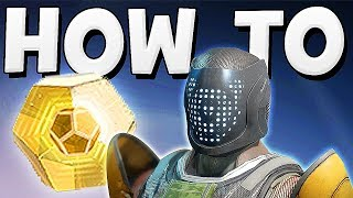 Destiny 2 - HOW TO GET EXOTIC ENGRAMS EASY !!