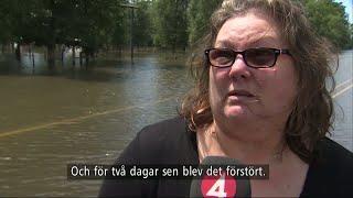 """Texasbo: """"Har förlorat mitt hus, allt jag äger"""" - Nyheterna (TV4)"""