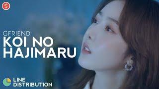 Download lagu GFRIEND - Koi No Hajimaru (The Beginning of Love) | Line Distribution