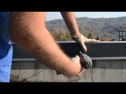 Примыкание крыши к стене. Парапет. Wasburg Hand Made Lives